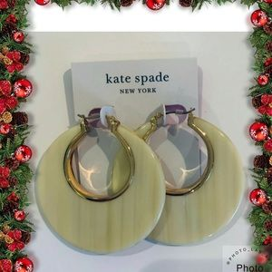 Kate Spade Neww York On The Dot Hoops